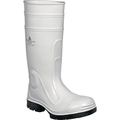 White safety wellington boots S4 SRC