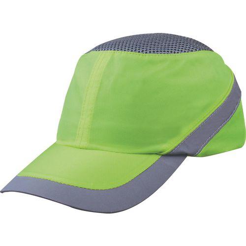 Impact resistant baseball style bump cap