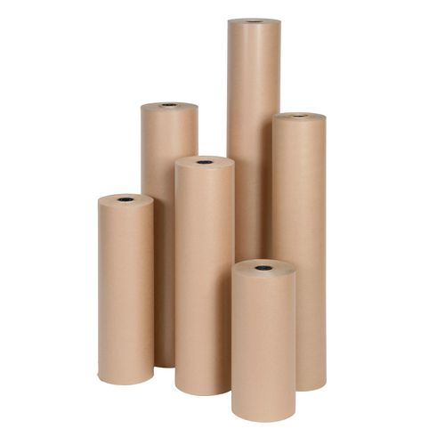 Eco friendly ribbed paper rolls