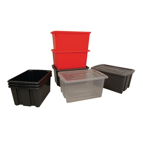 Lightweight plastic containers