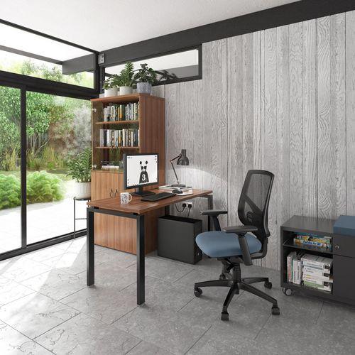 Straight work desk