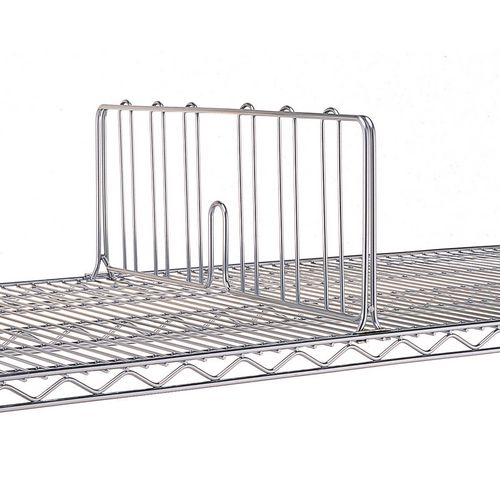 Dividers for Slingsby chrome wire shelving